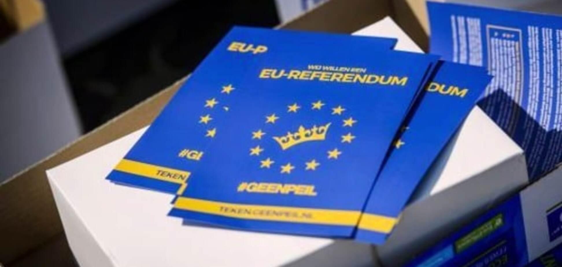 Дякуємо, Нідерланди! Про позитив від провального референдуму