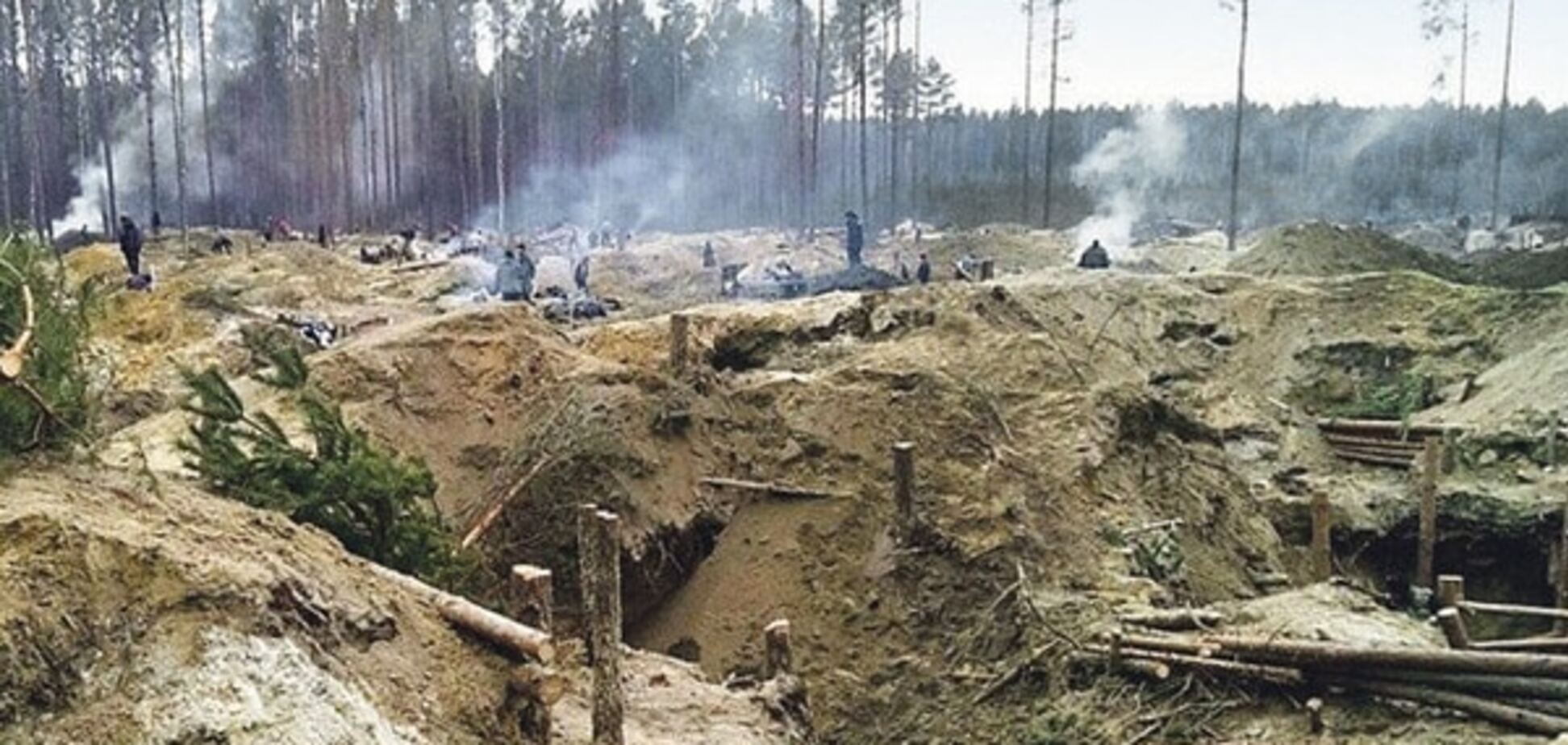 янтарь Украины, незаконная добыча