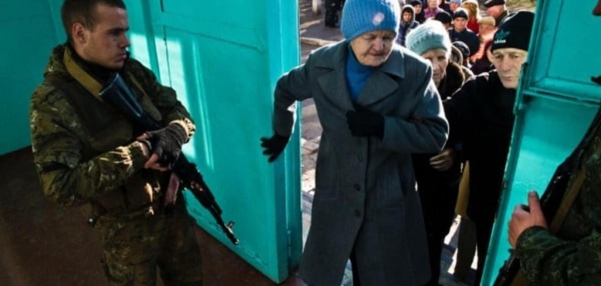 Прямо з окопу: на 'виборах' в 'ДНР' голосували російські військові - ГУР