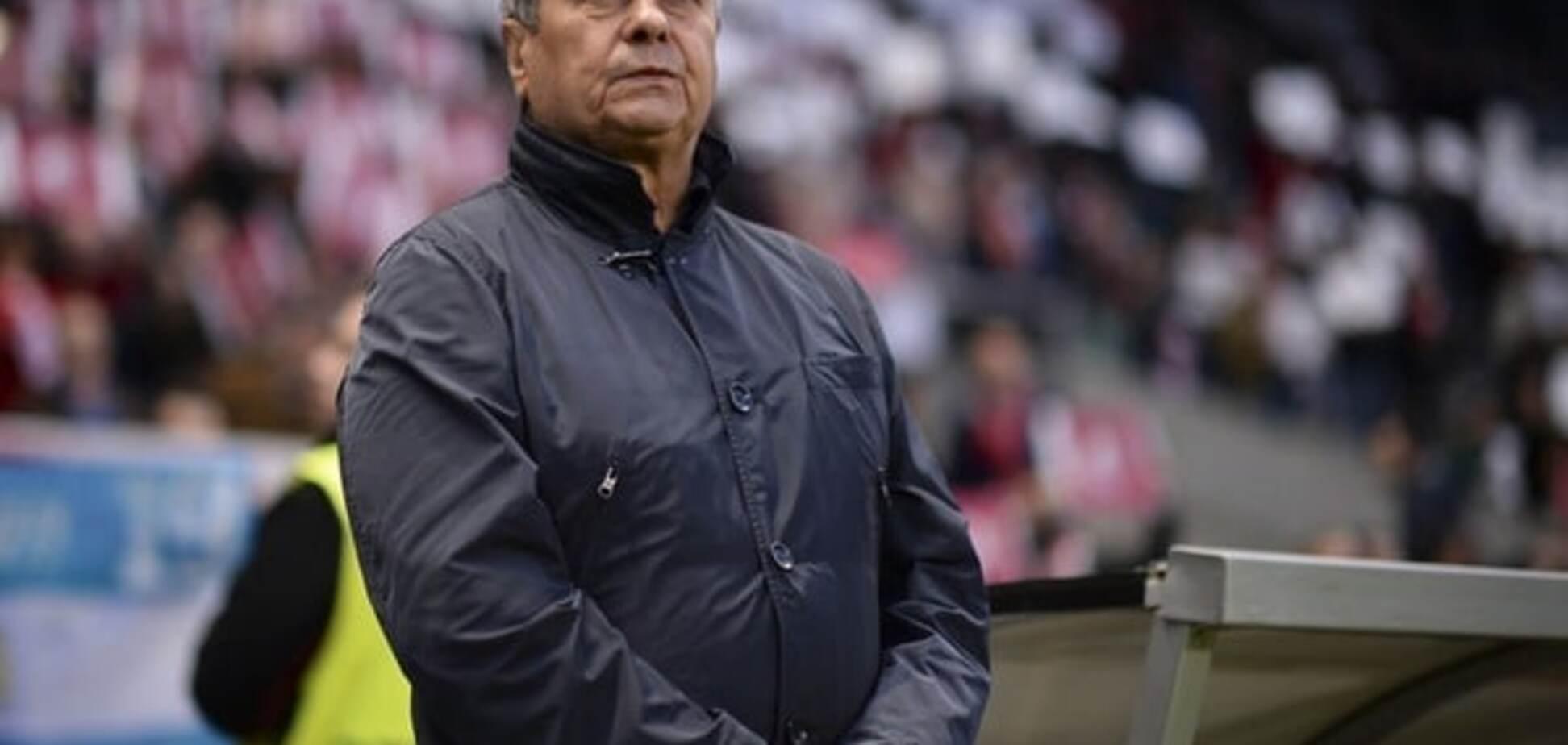 Луческу зізнався, що припустився грубої помилки в матчі з 'Брагою'