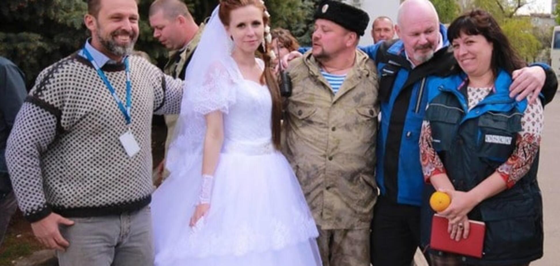 Просто стояли поруч: в ОБСЄ пояснили участь спостерігачів у весіллі терористів