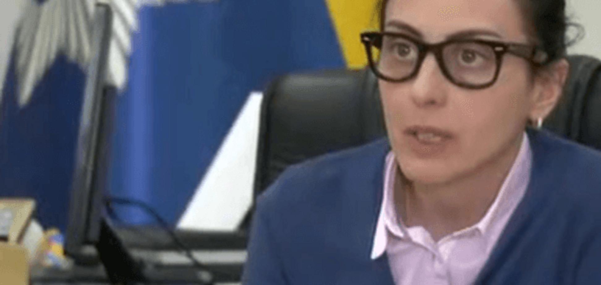 Я влаштую їм пекло: Деканоїдзе пообіцяла відправити одіозного Мамку на Донбас