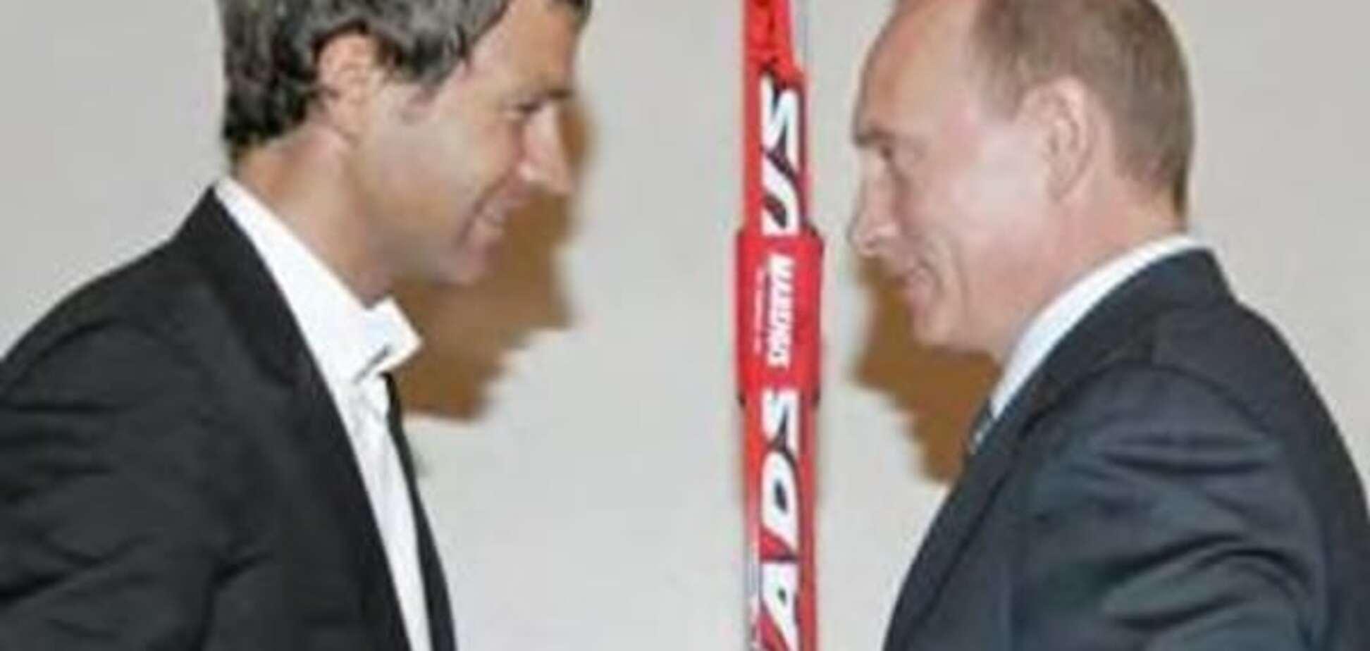 Бьёрндален и Путин