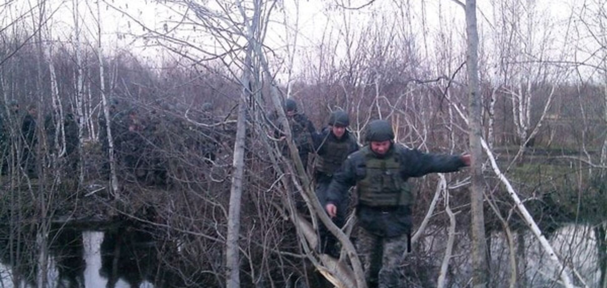 Нацгвардія відзвітувала про повну перемогу над 'бурштиновою мафією' на Житомирщині: фоторепортаж