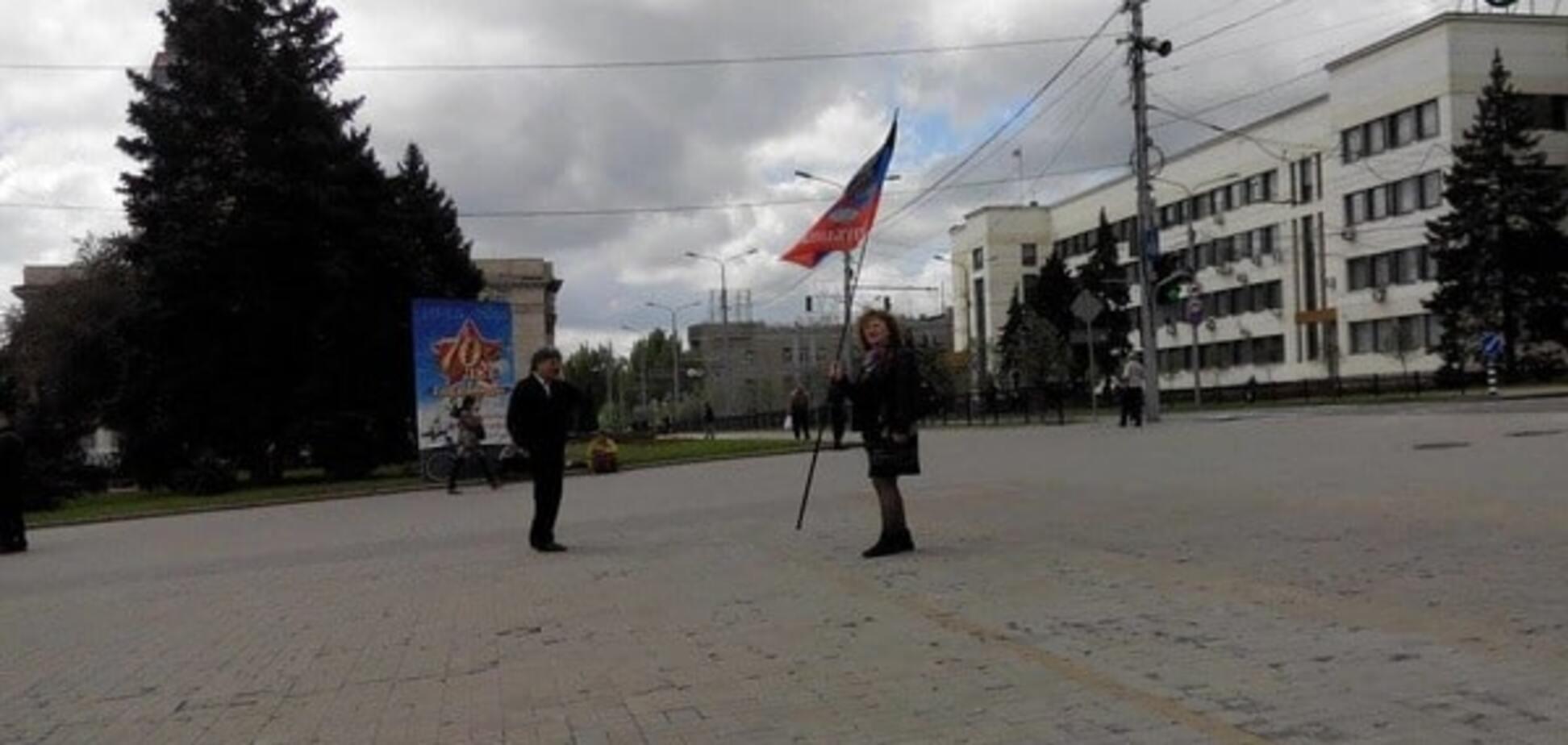 У Донецьку пройшов 'порожній марш' комуністів на 1 травня