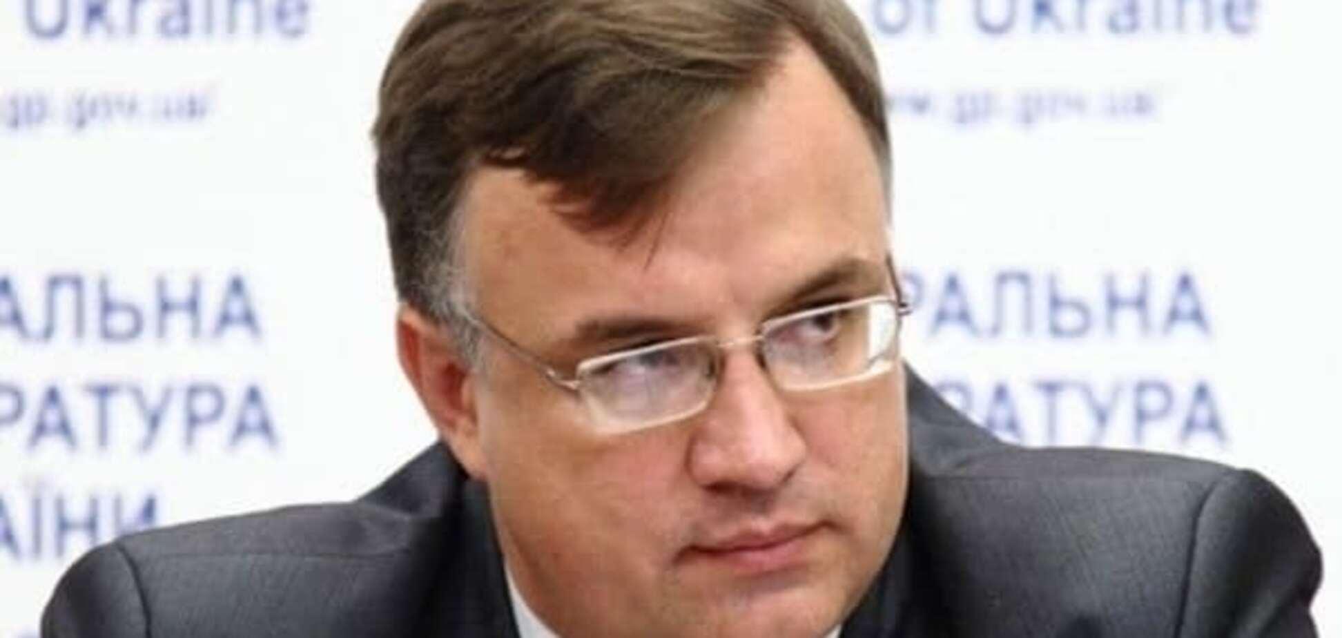 У ГПУ прояснили, чому Севрук досі виконує обов'язки генпрокурора