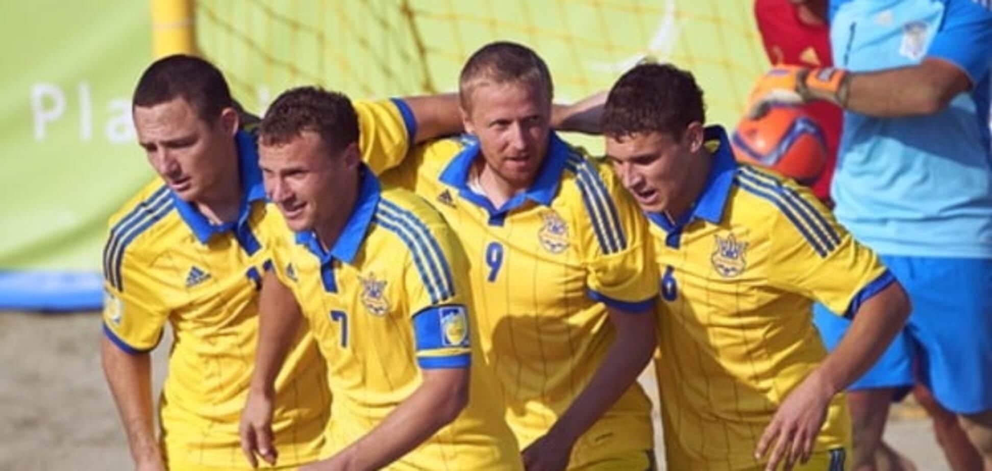 Сборная Украины сыграет с Россией в 1/4 финала Кубка Европы