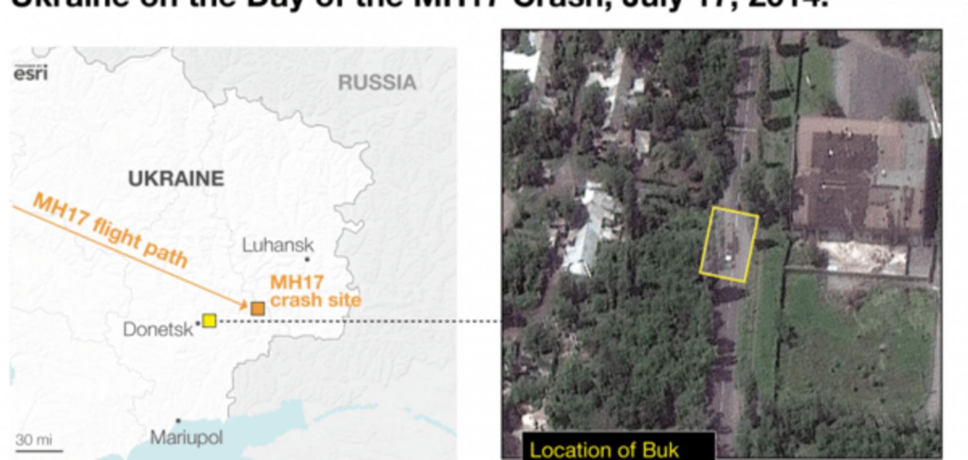 Stratfor знайшла російський 'Бук' на супутникових фото