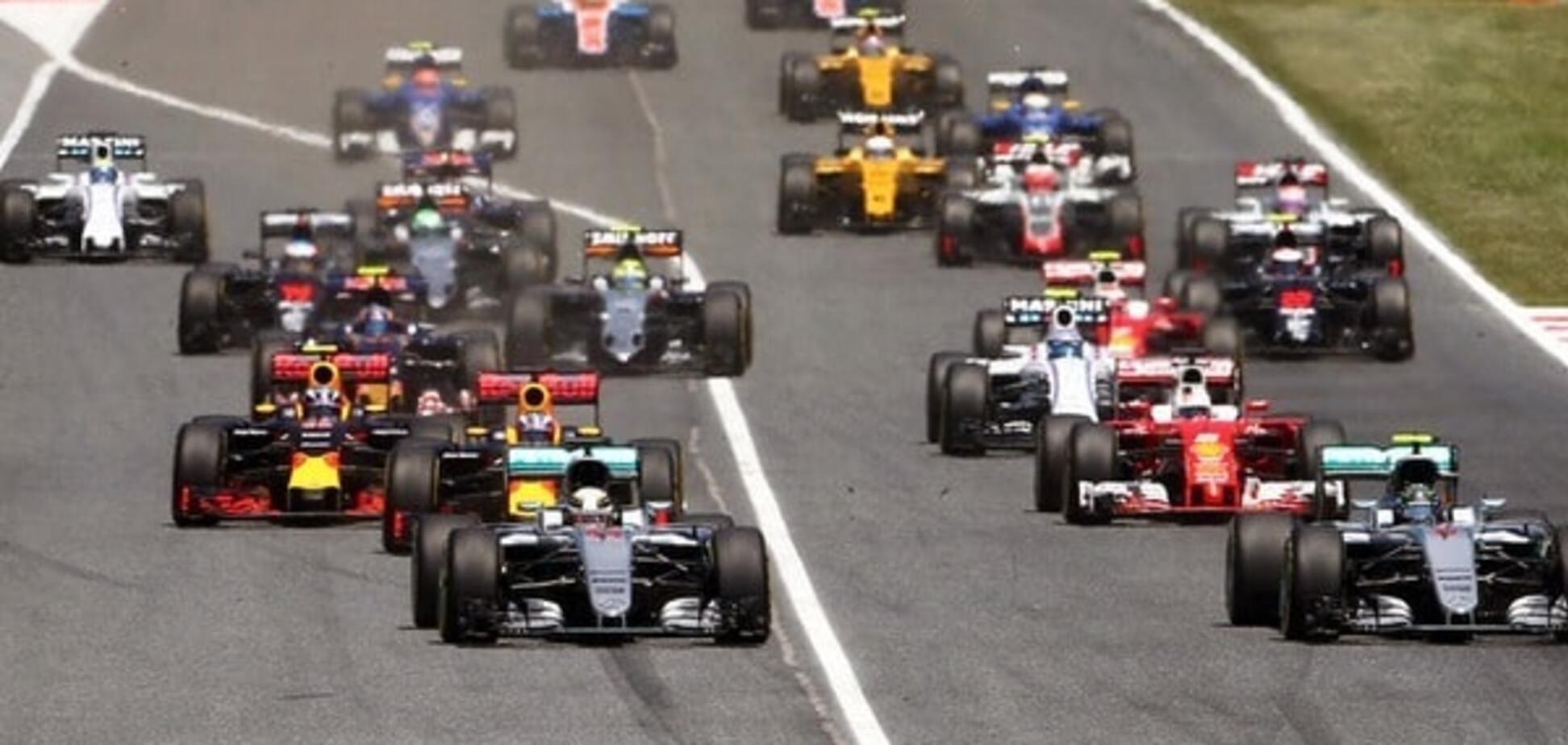 Гонка Формули-1 ознаменувалася неймовірною аварією