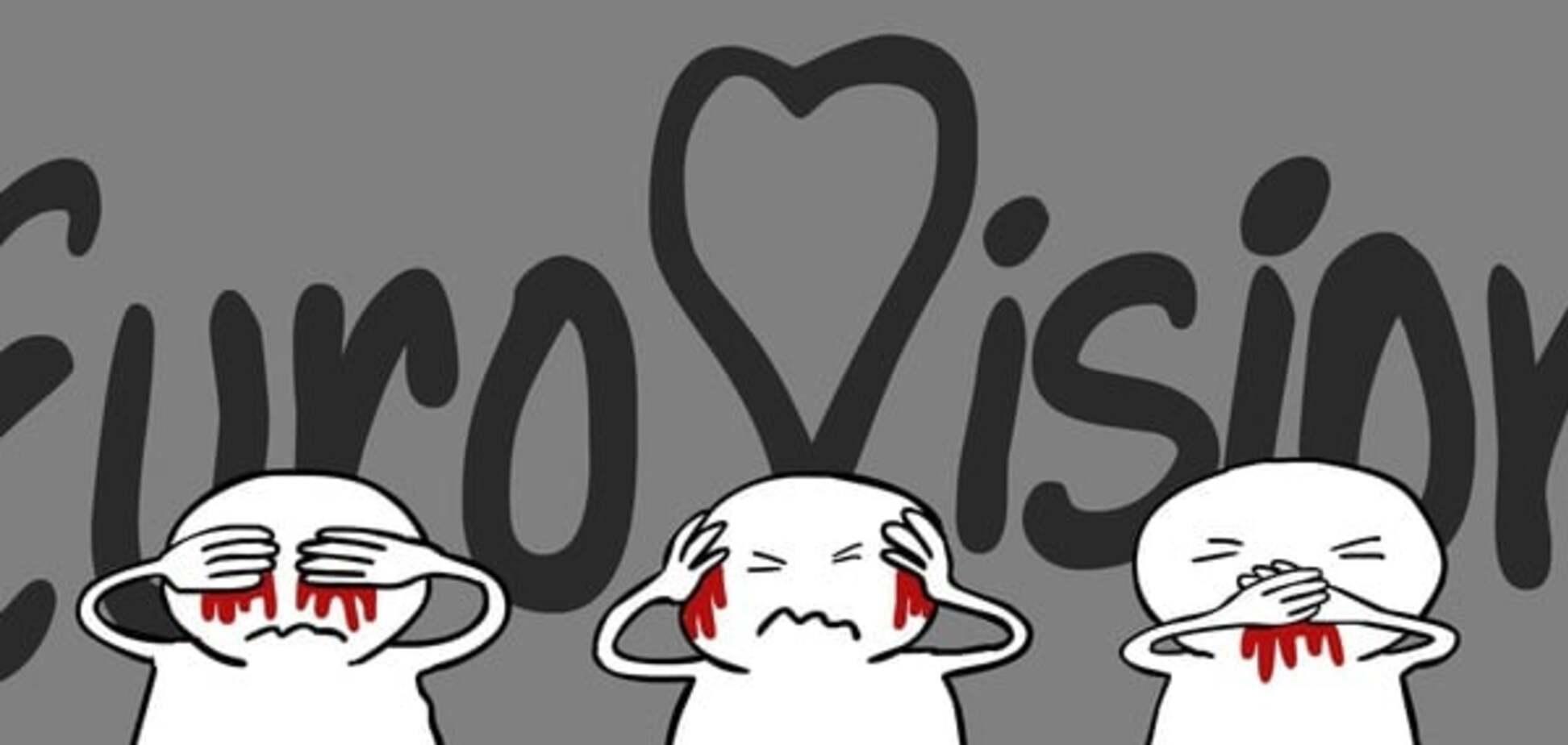 'Євробачення-2016': відомий карикатурист потролив поразку Росії