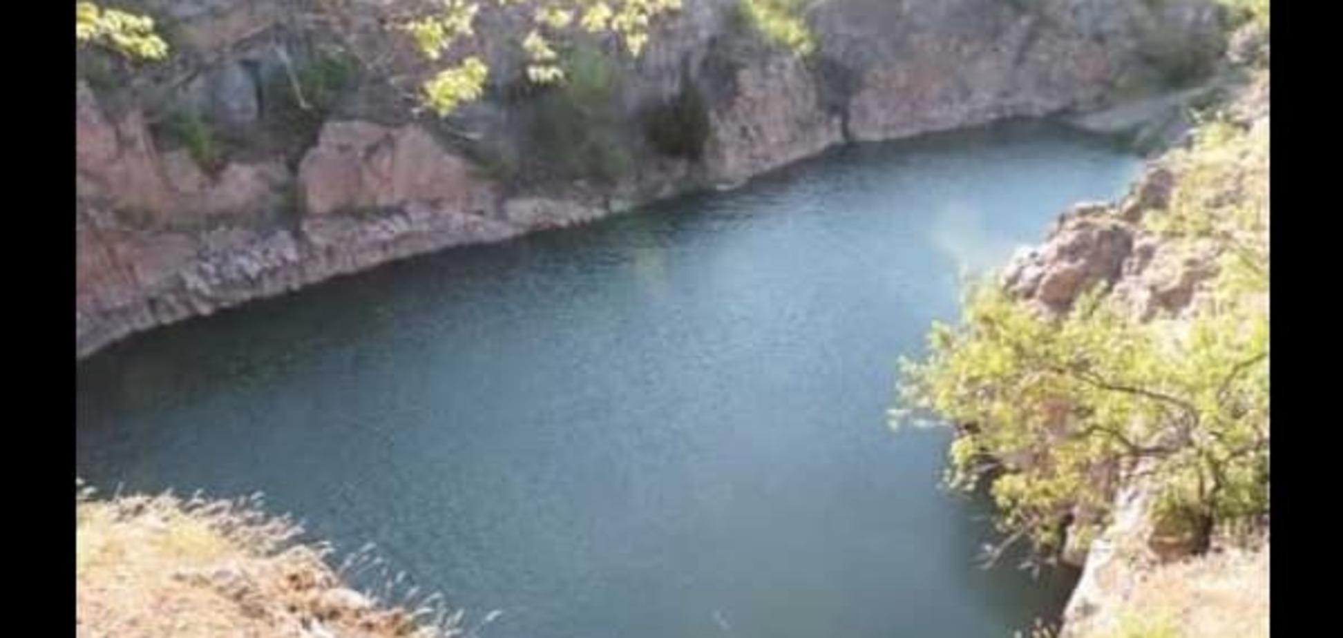 Как в Аризоне: в Украине есть свой 'Большой каньон' в Запорожской области