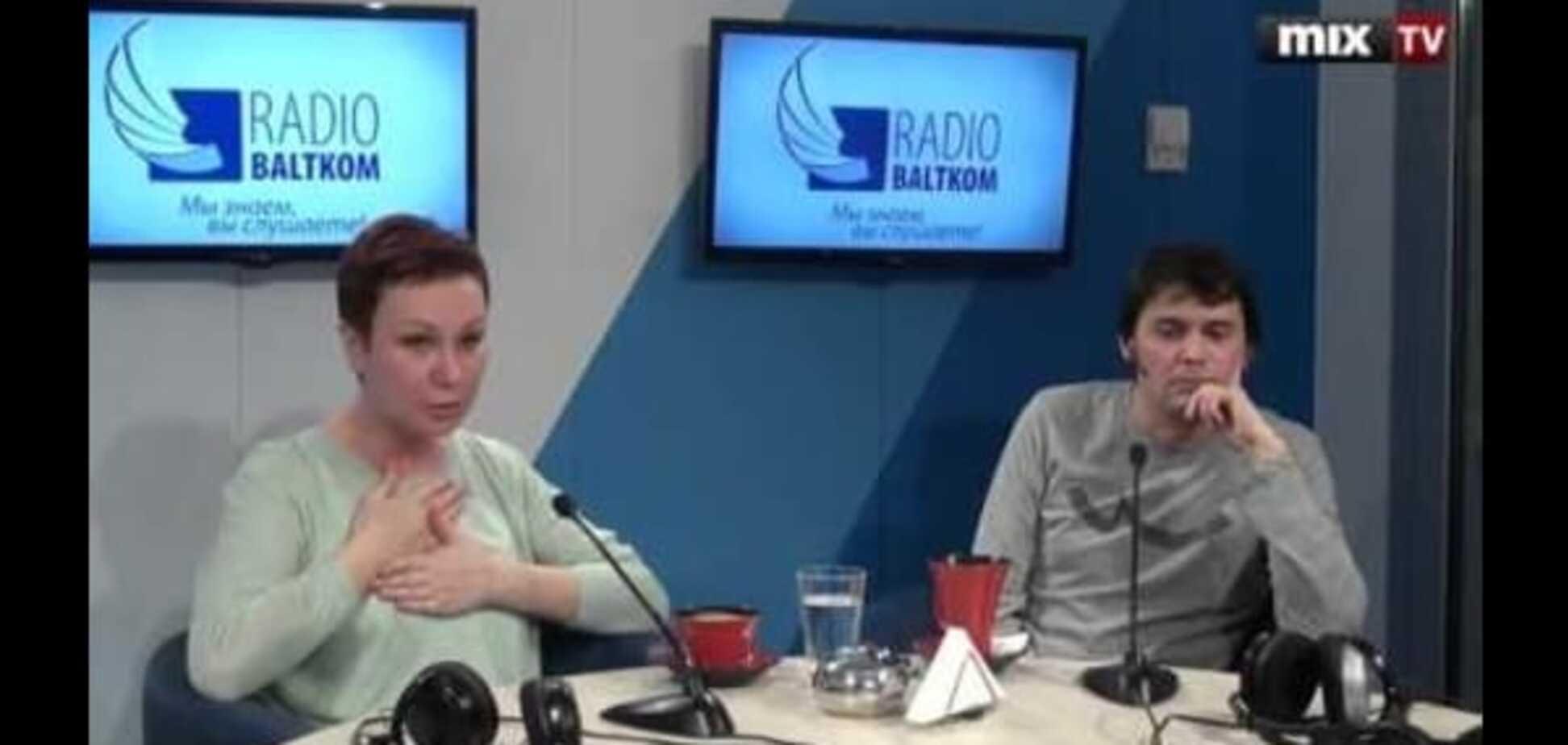 Программа 'Вопрос с пристрастием' Тема: ВНЖ. MIX TV