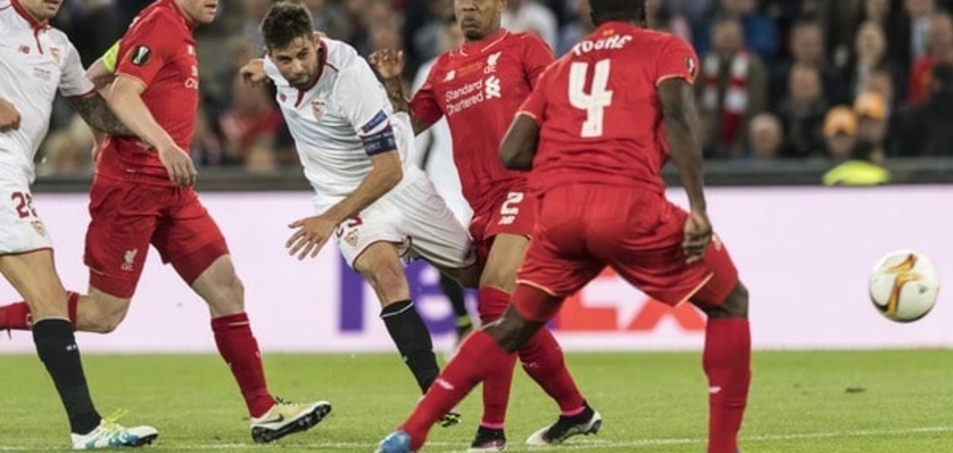 'Севілья' забила фантастичний гол 'Ліверпулю' у фіналі Ліги Європи