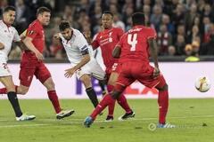 Как нож в масло. 'Севилья' забила фантастический гол 'Ливерпулю' в финале Лиги Европы