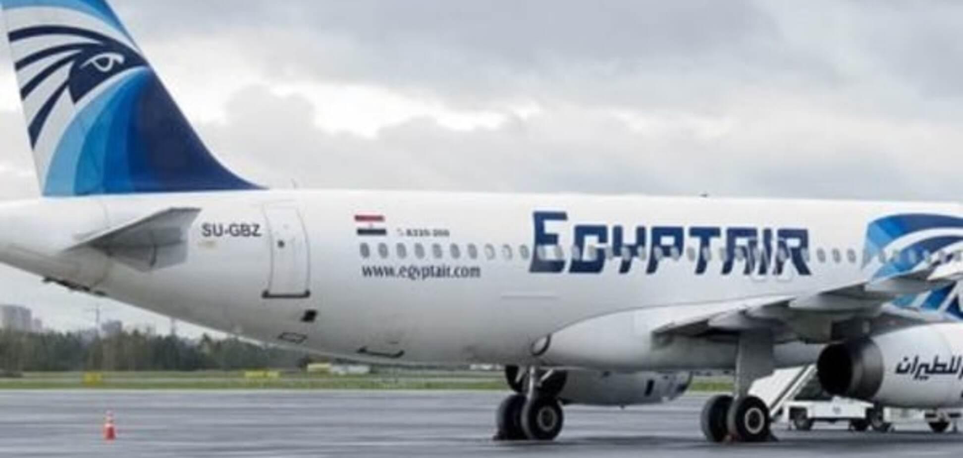 Самолет A320 авиакомпании EgyptAir