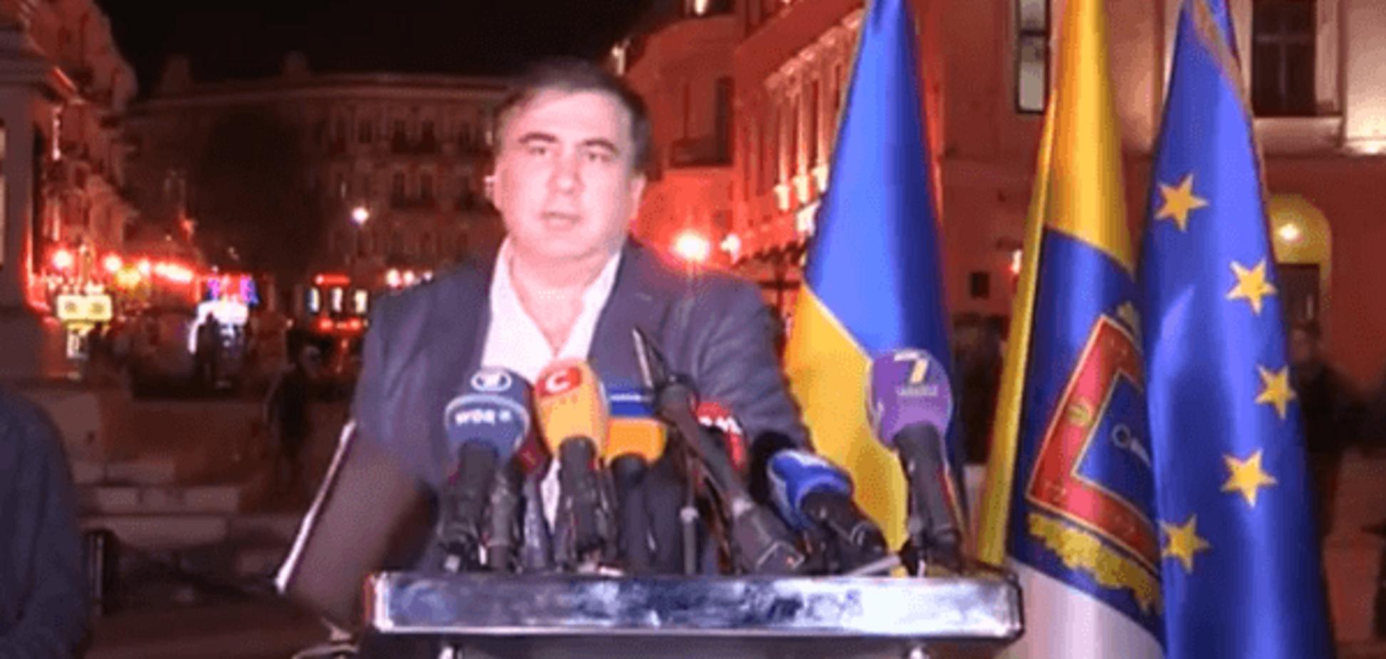 Глава Одесской ОГА Михеил Саакашвили