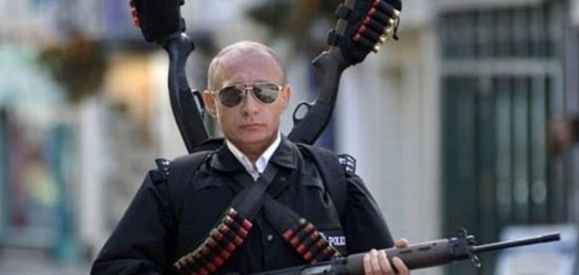 Путинская оккупация - это сценарий гитлеровских нацистов