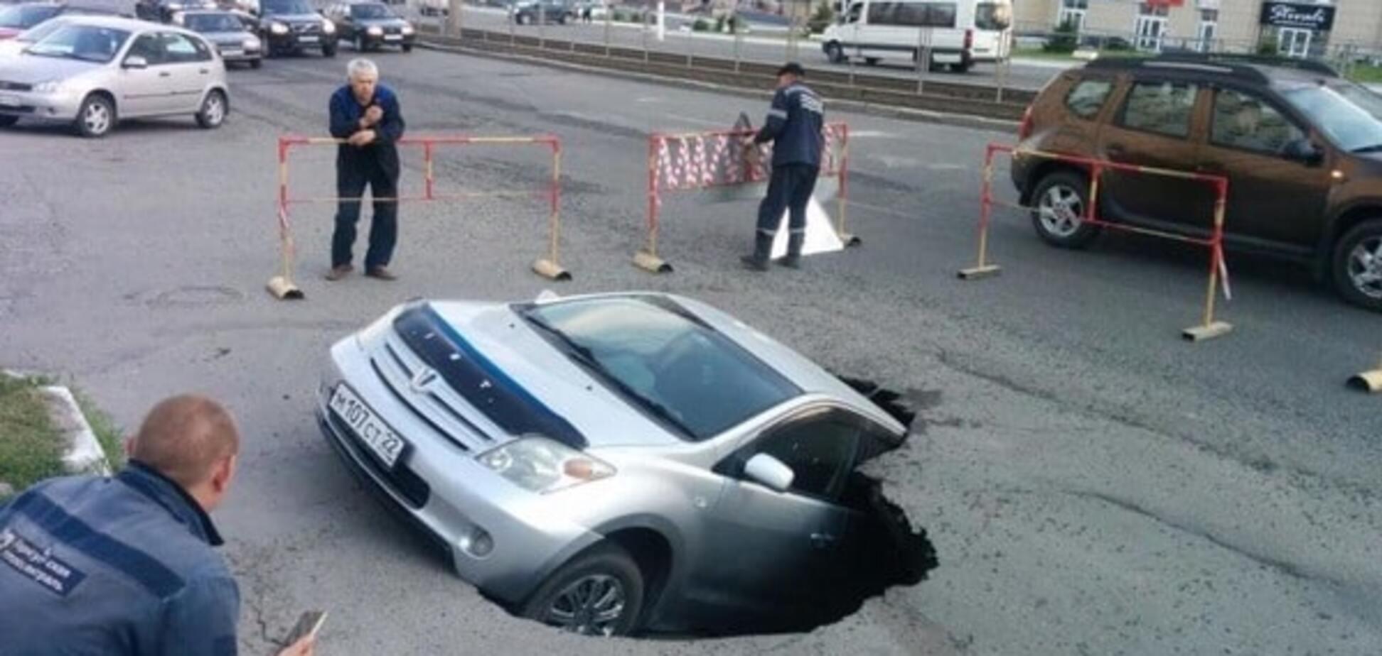 Барнаул. авто, машина, асфальт