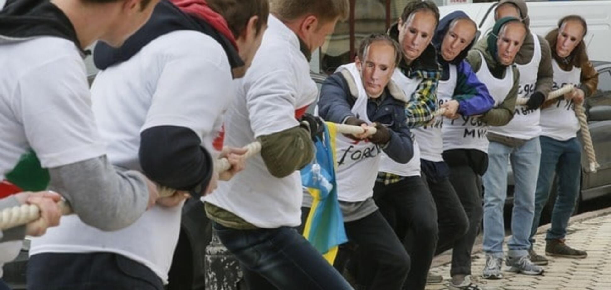 Протест против российской пропаганды