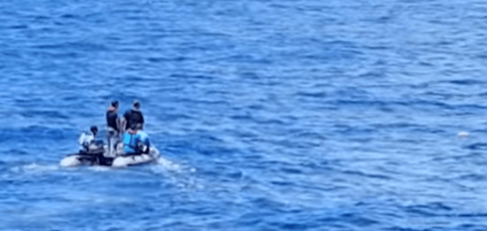 Крушение EgyptAir: опубликовано видео поисковой операции