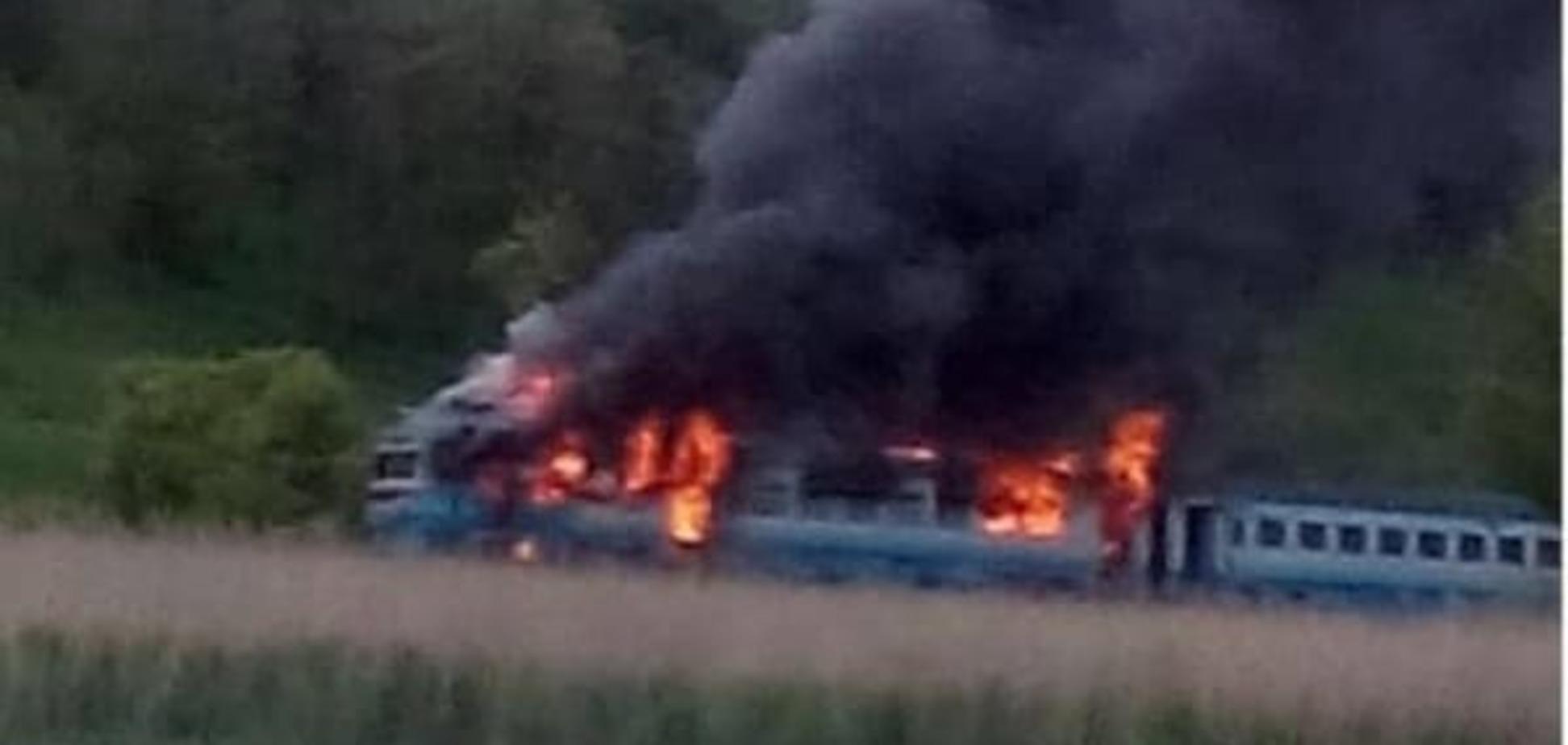 Поліція почала розслідування пожежі в поїзді на Вінниччині