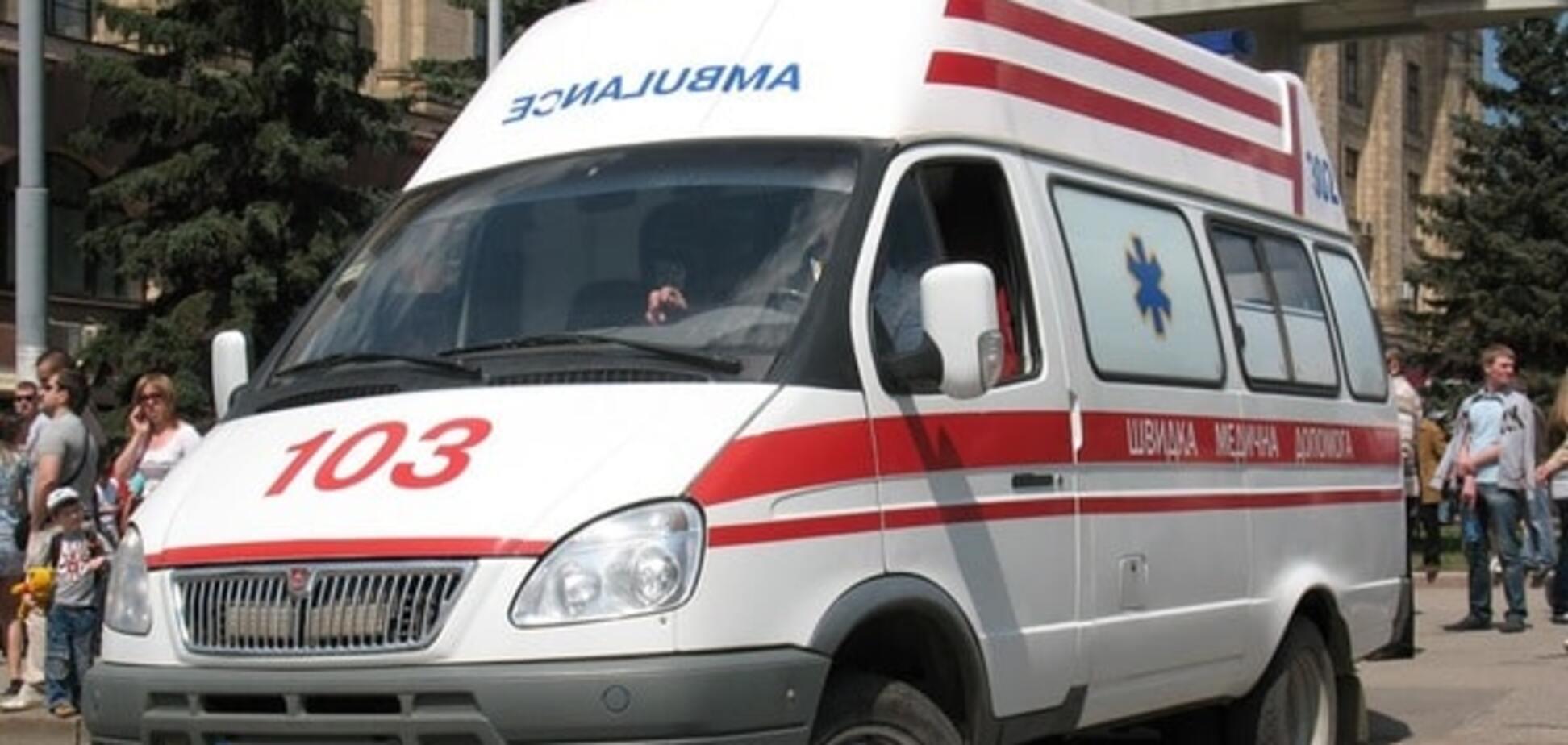 Авария в Луганске: пьяный российский военный сбил женщину на остановке