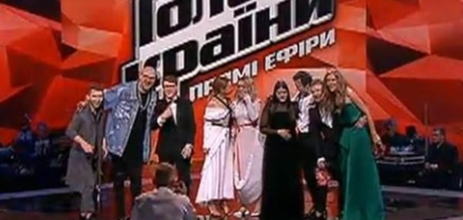финалисты Голосу країни