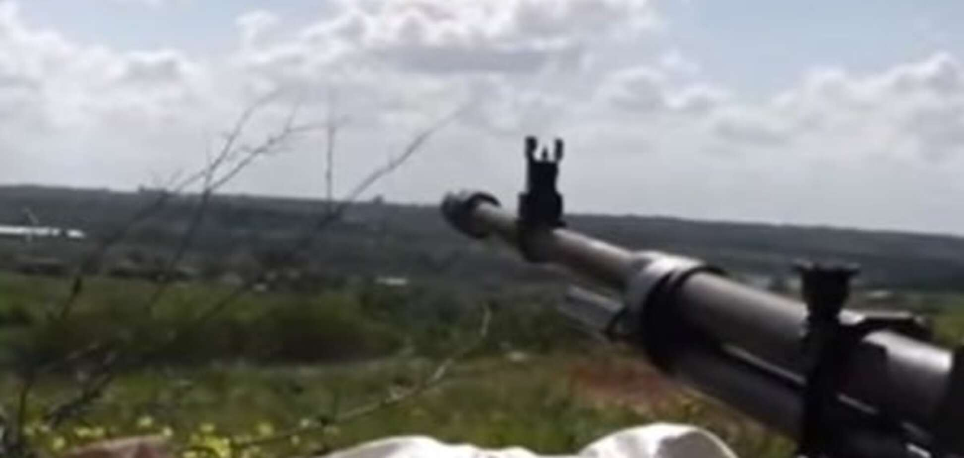 Позиції терористів під Донецьком