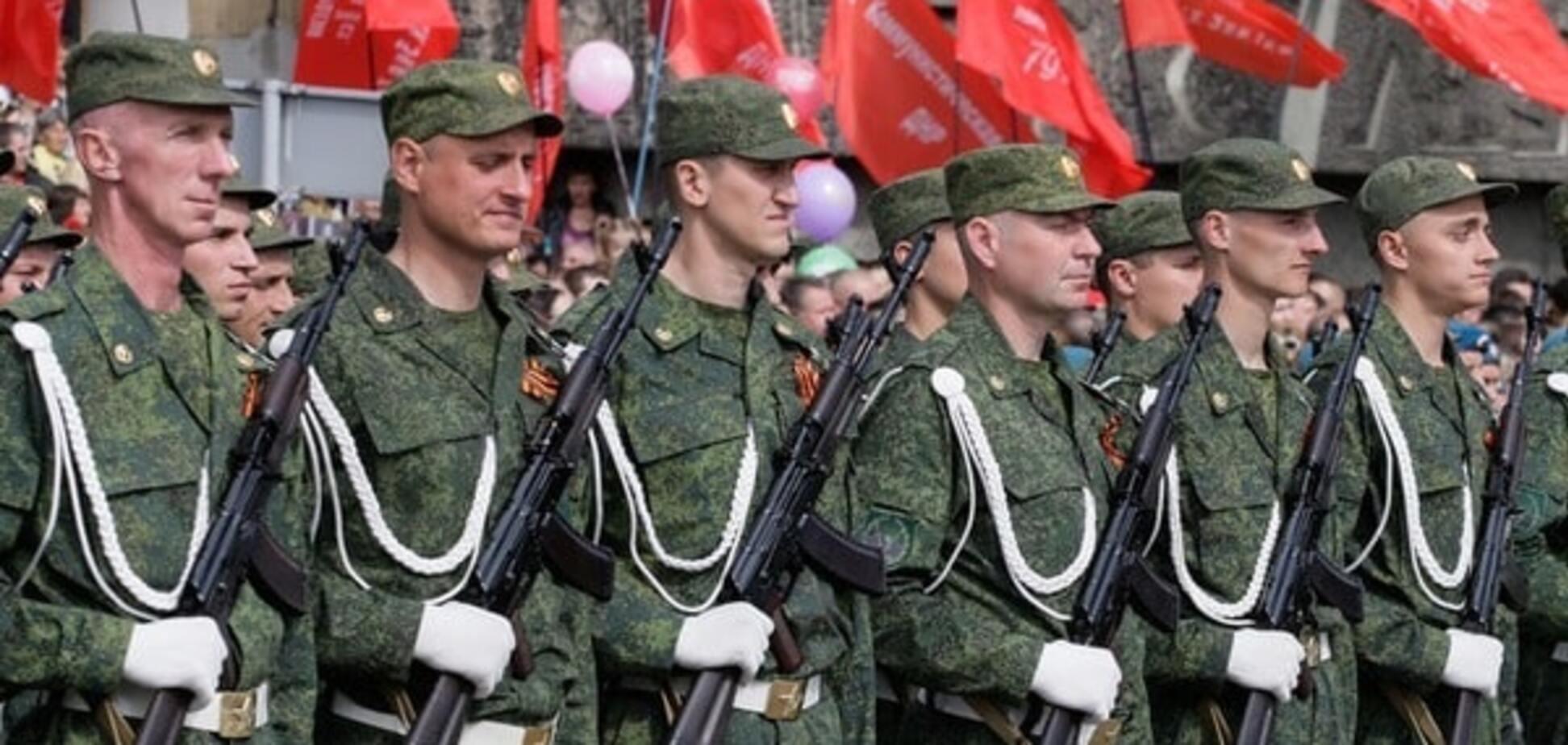 Пророссийские террористы в Донецке
