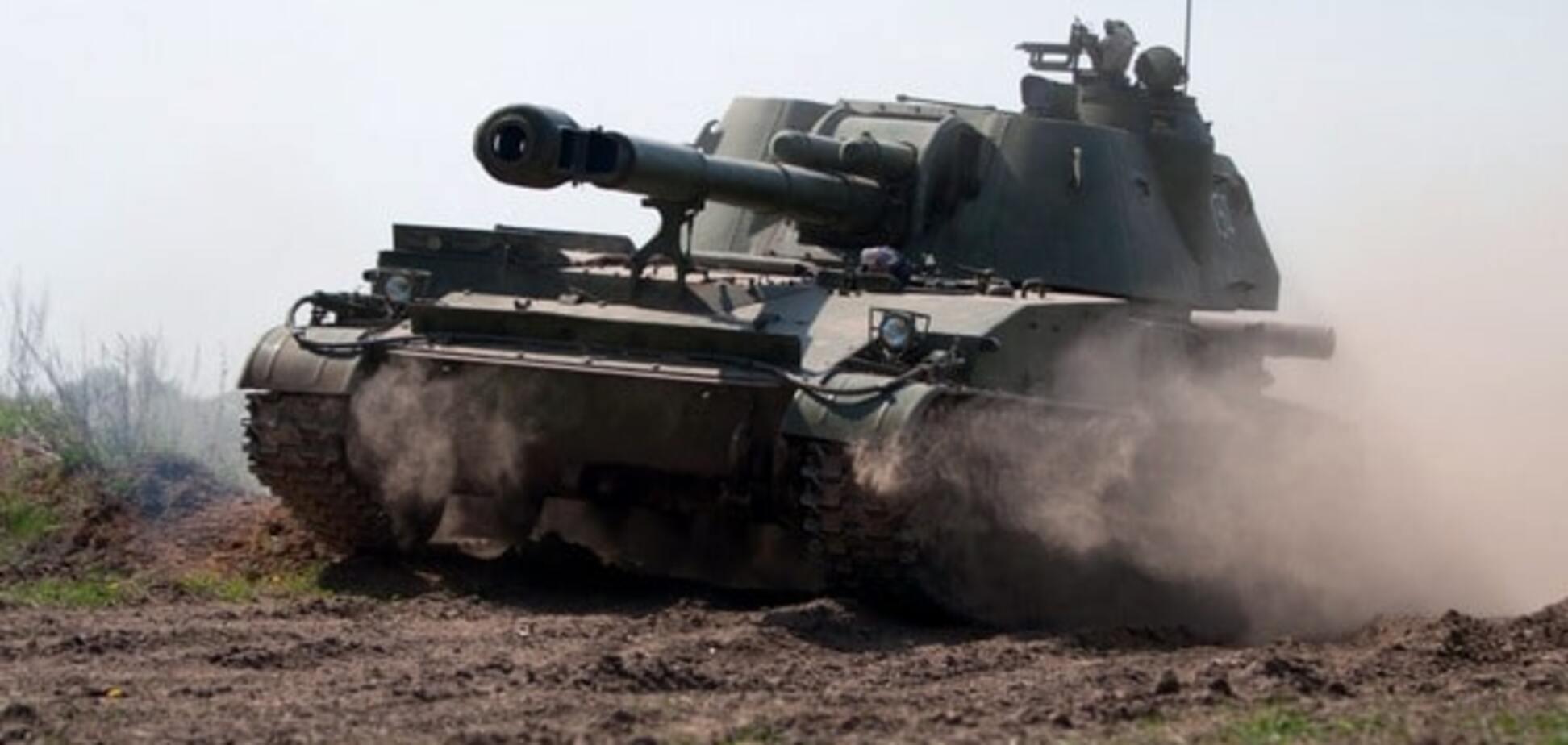 артилерія терористів