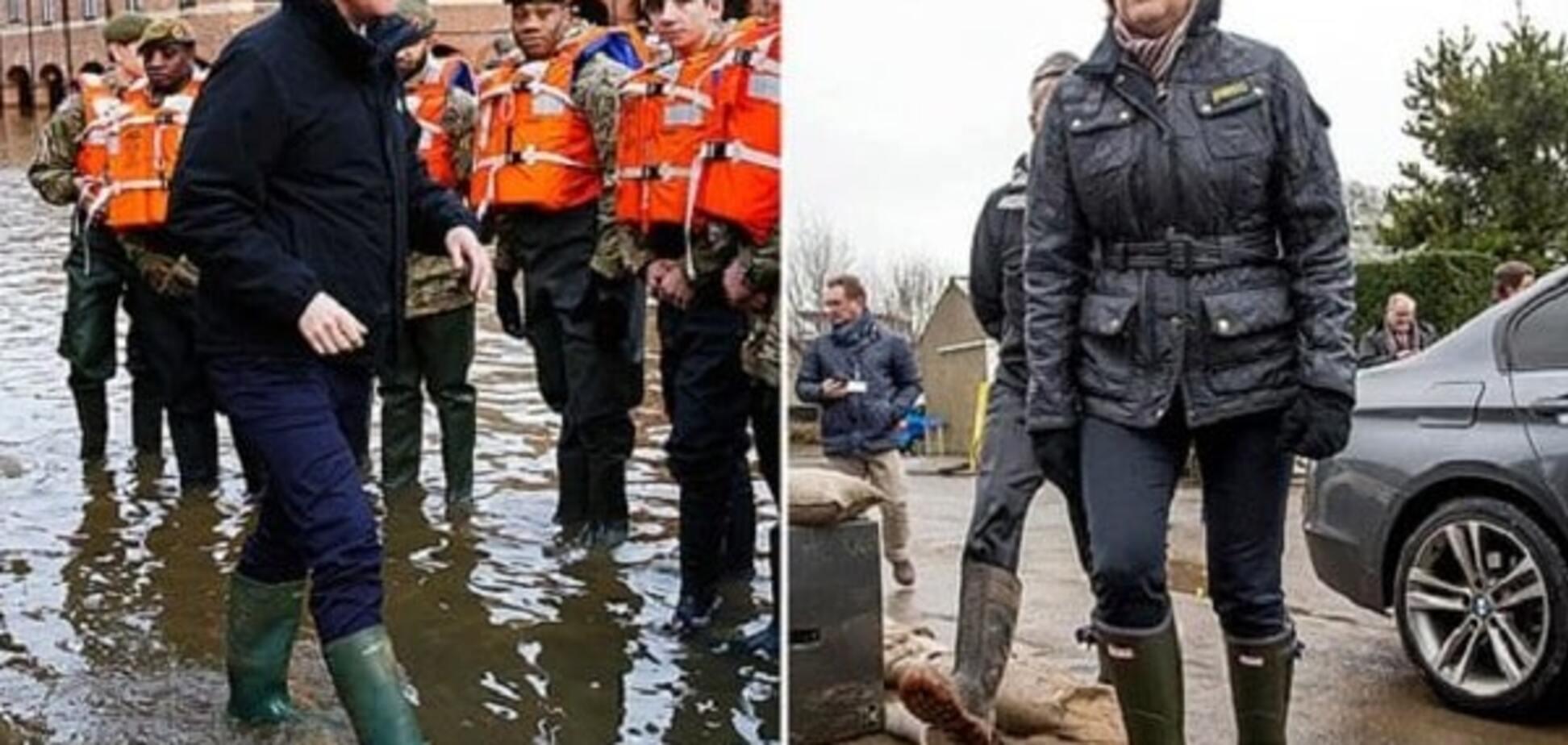 Как премьер Великобритании скандалов избегает