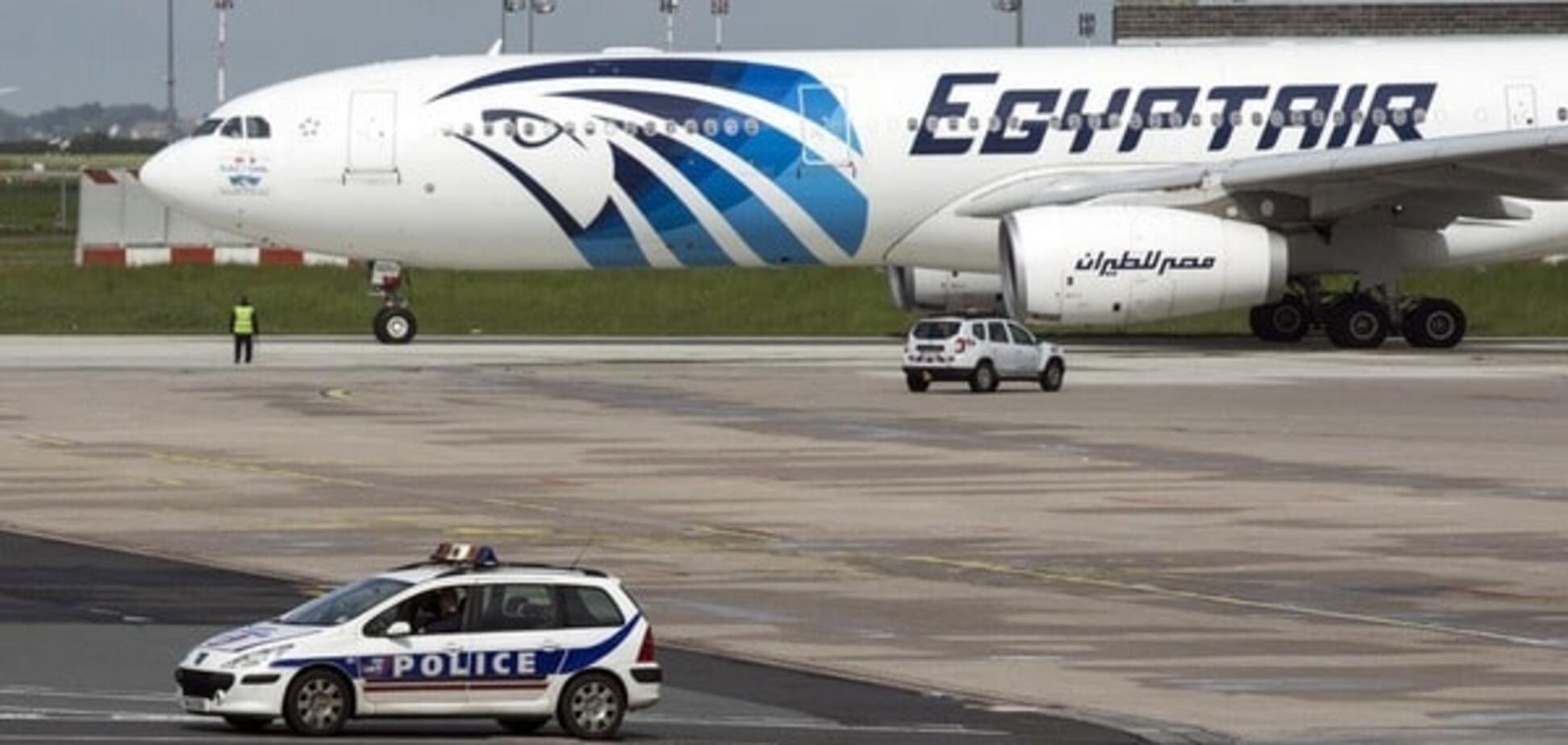 За минуты до крушения с борта EgyptAir поступали тревожные сообщения
