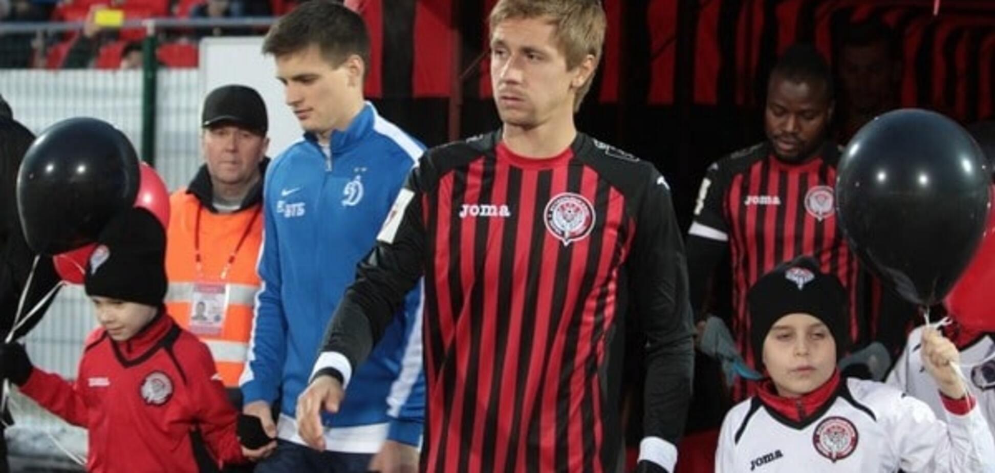 Богдан Бутко вызван в сборную Украины. Источник: fc-amkar.org