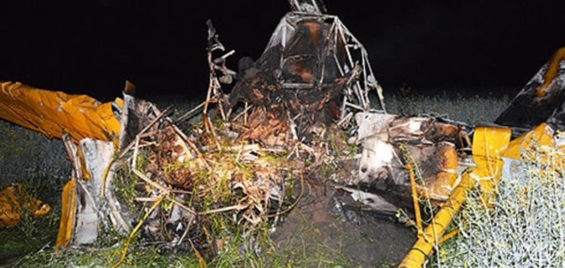На Волині розбився літак: є жертви
