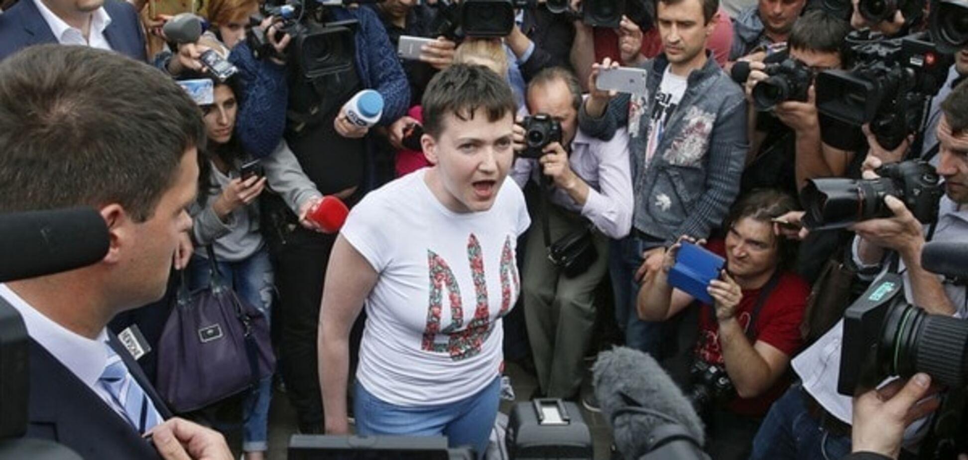 Обмен Савченко: Россия в качестве побитой собаки