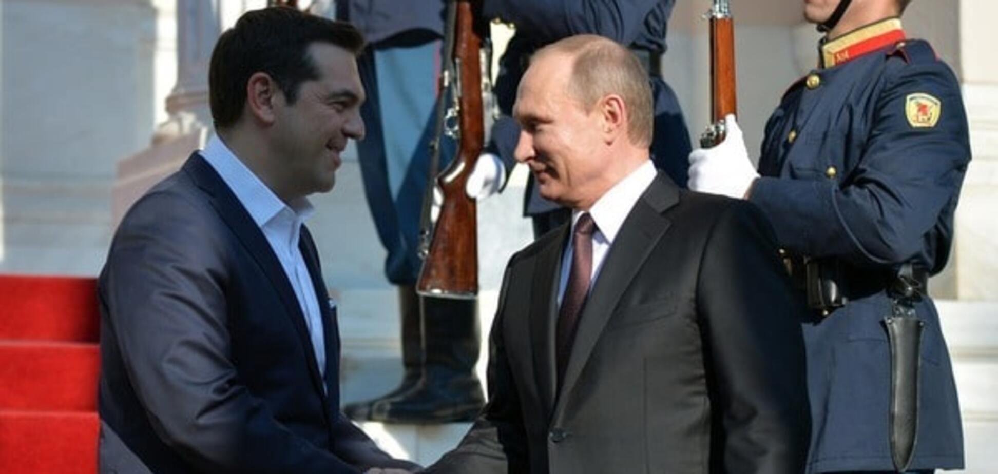 Владимир Путин, Алексис Ципрас