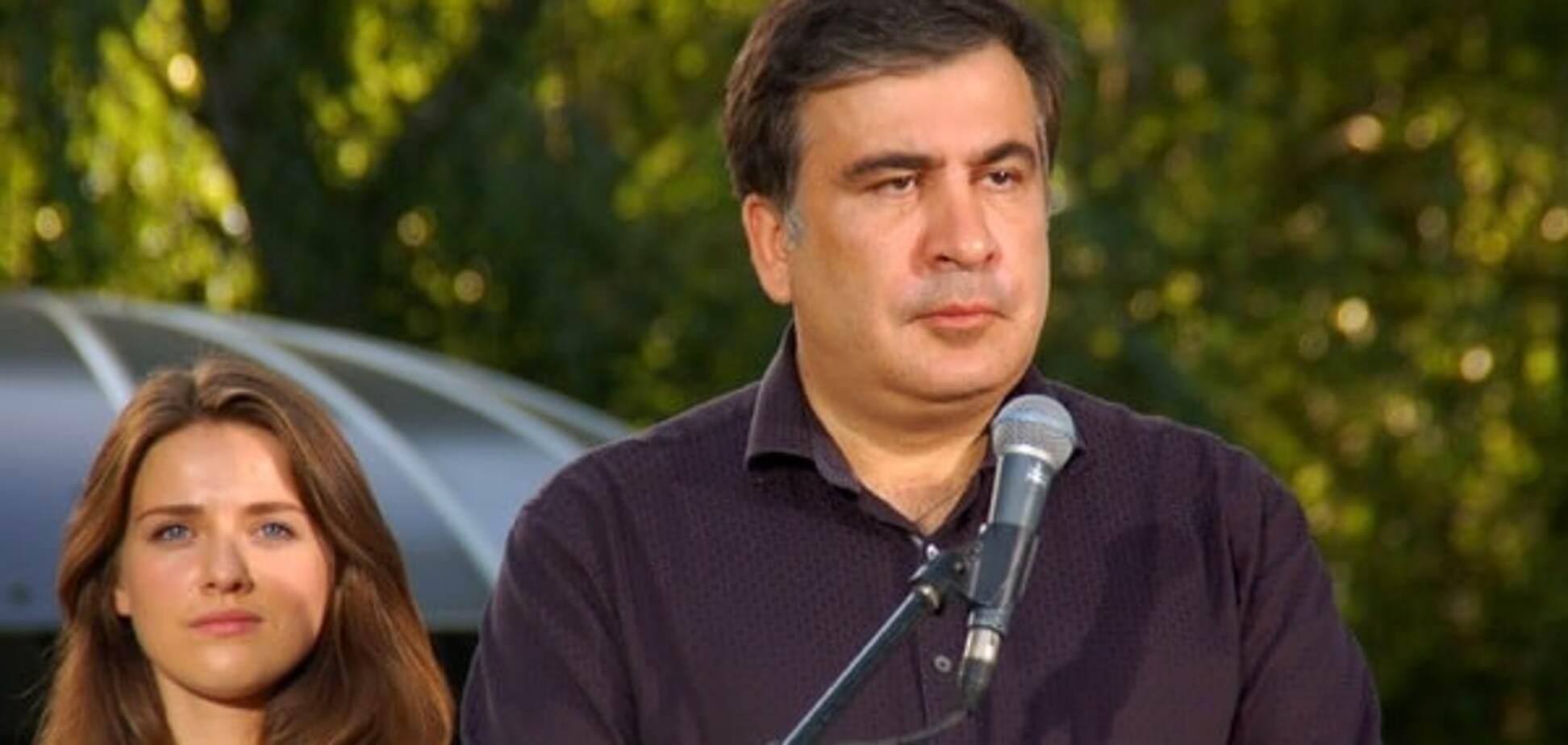 Михеил Саакашвили, Юлия Марушевская