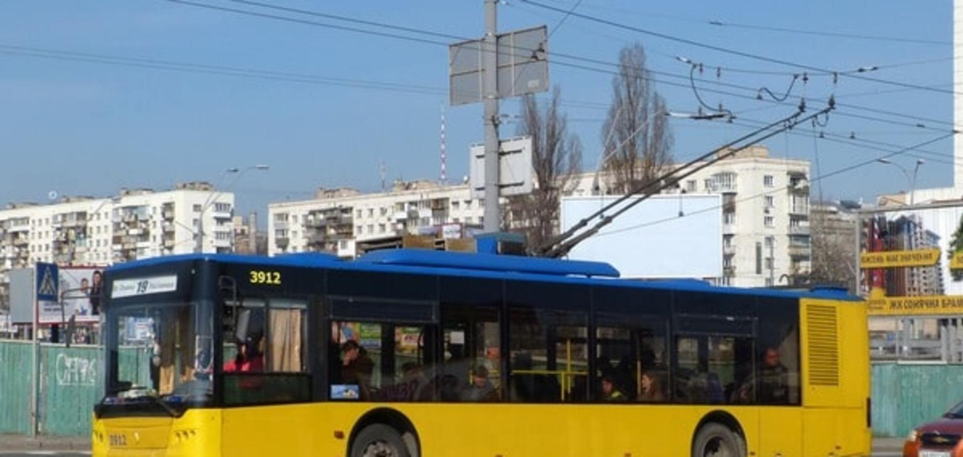 День Киева, транспорт, движение