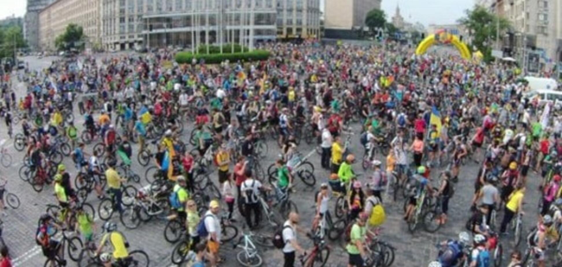 День Киева, велодень, велосипед