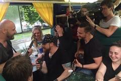 С.К.А.Й. устроили концерт в трамвае