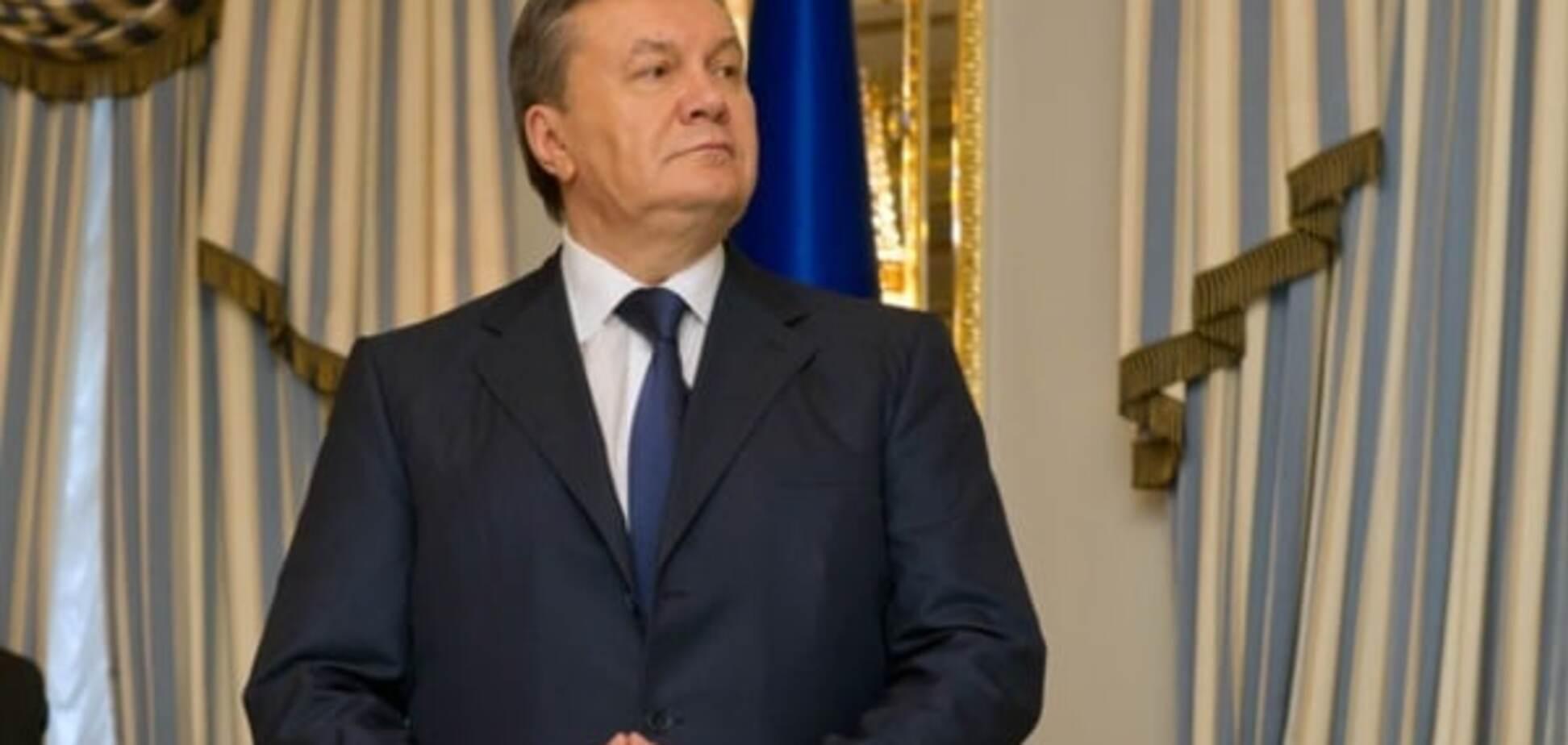 Віктор Янукович, президент, злочини