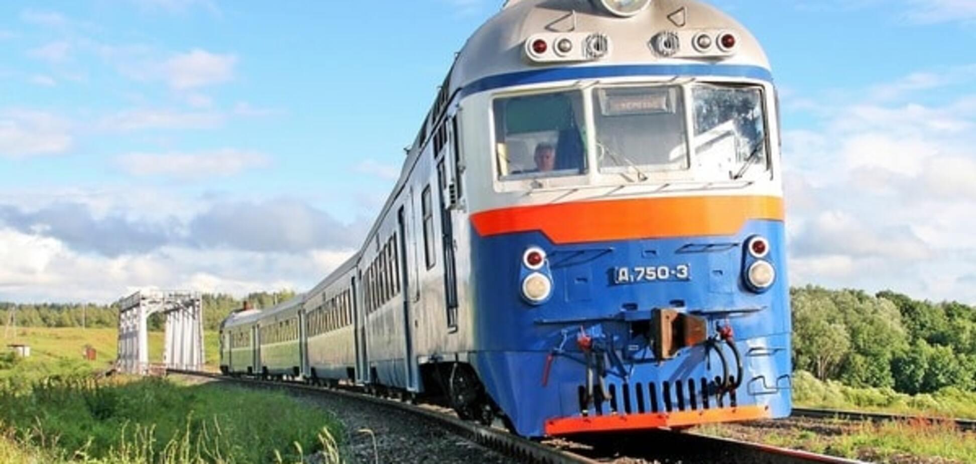 Сумська область, потяг, дитина