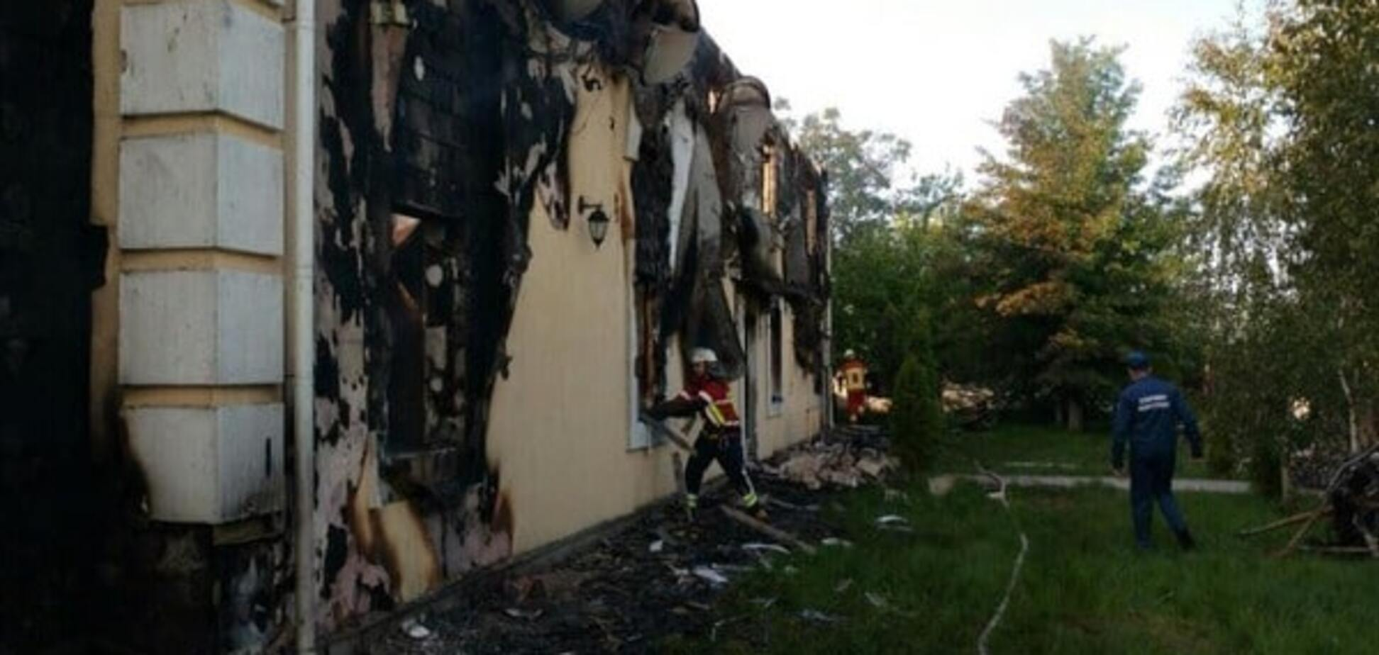 Пожар на Киевщине