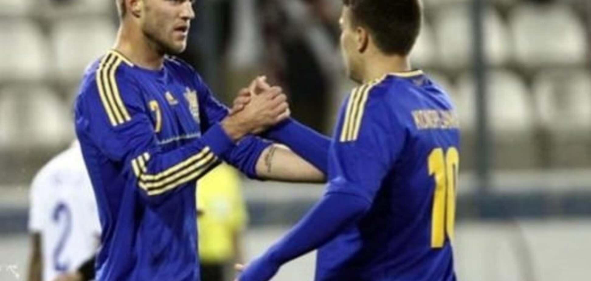 Сборная Украины эффектно обыграла Румынию перед Евро-2016