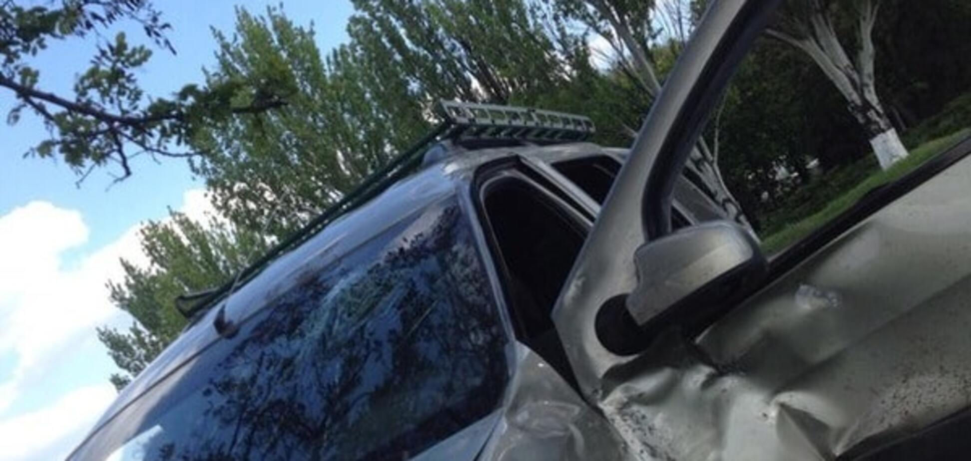 Боевики \'ДНР\' попали в аварию