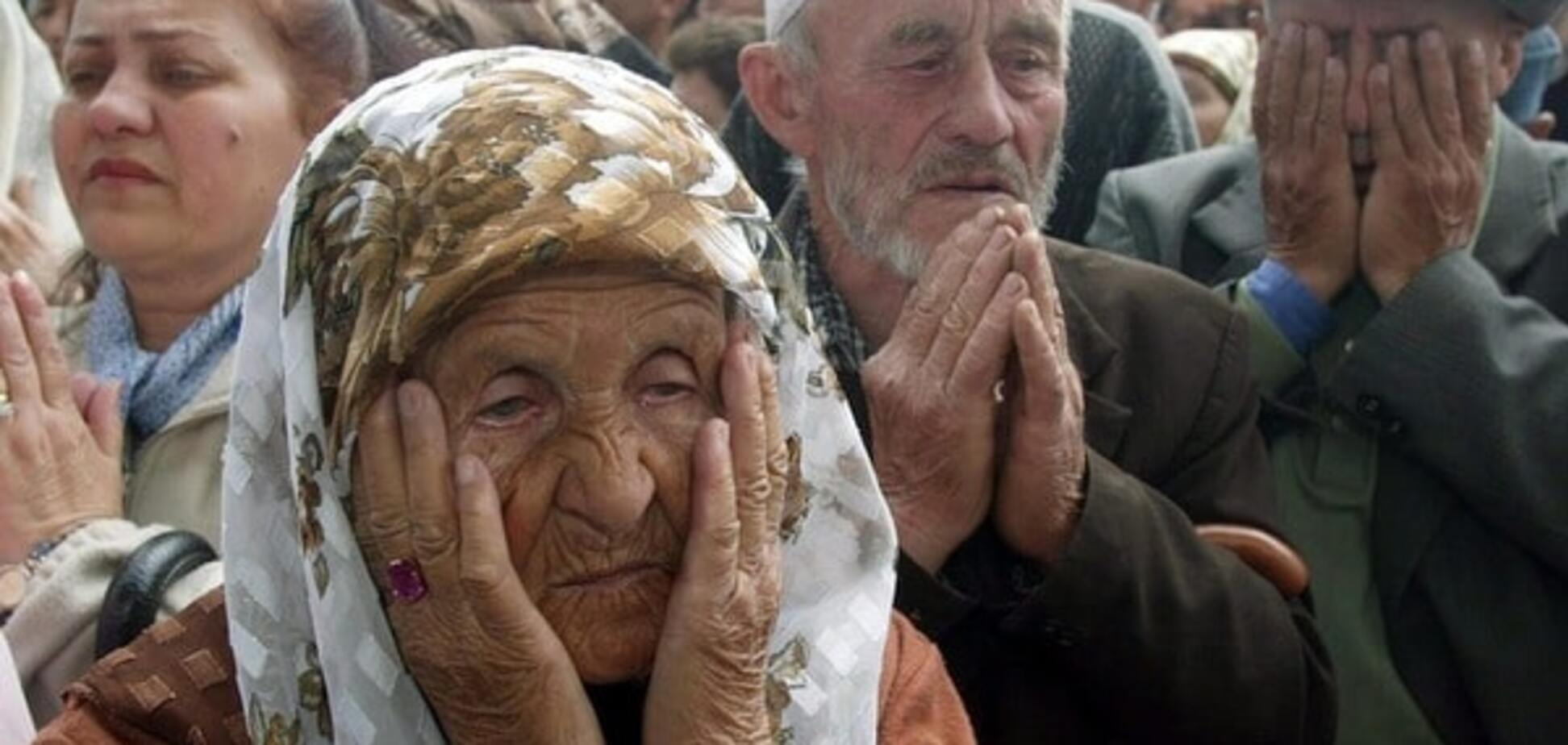 Імітація щастя: окупанти в Криму влаштували 'свято' для картинки в ЗМІ Кремля