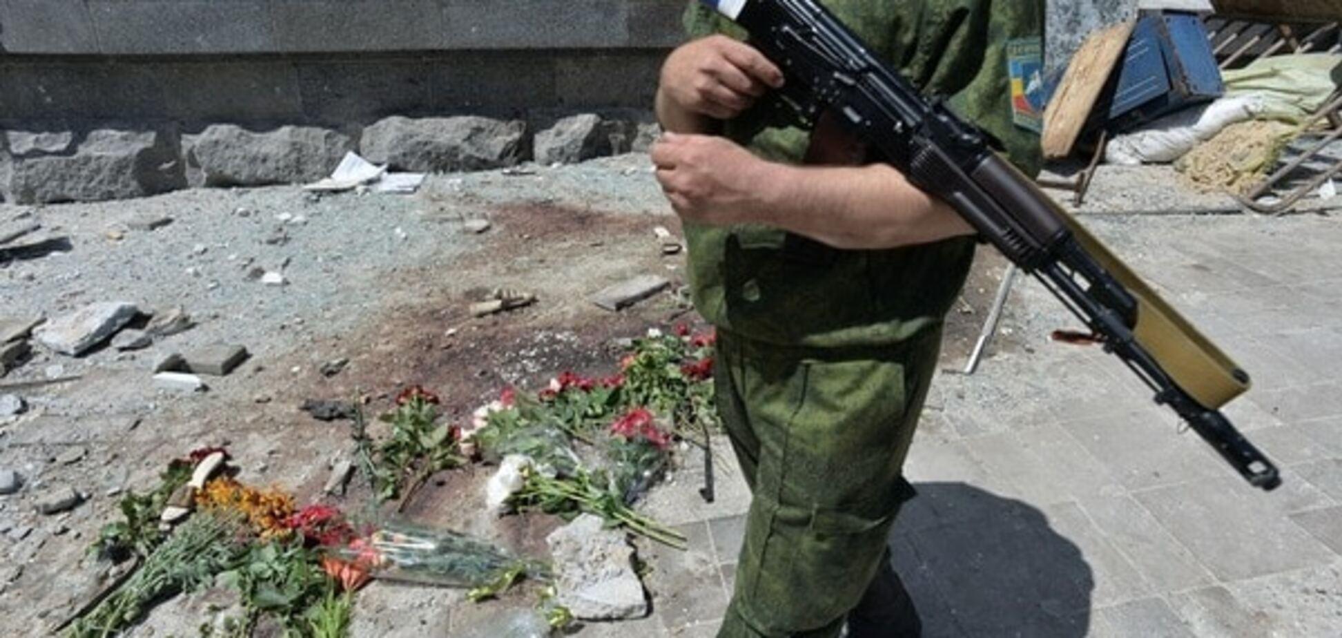 Снайпер терористів обстріляв бійців АТО поблизу Мар'їнки