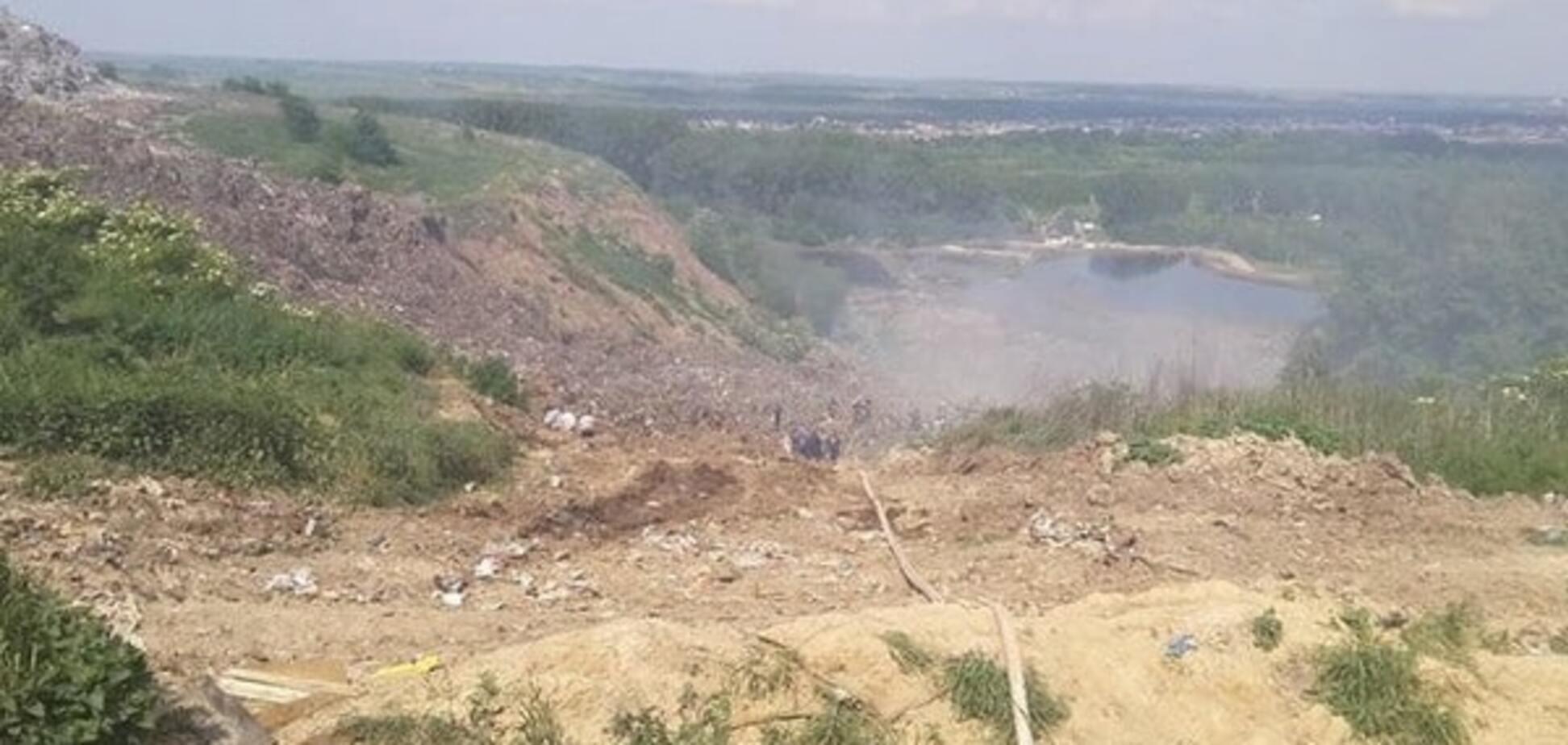 Трагедия на свалке в Грибовичах