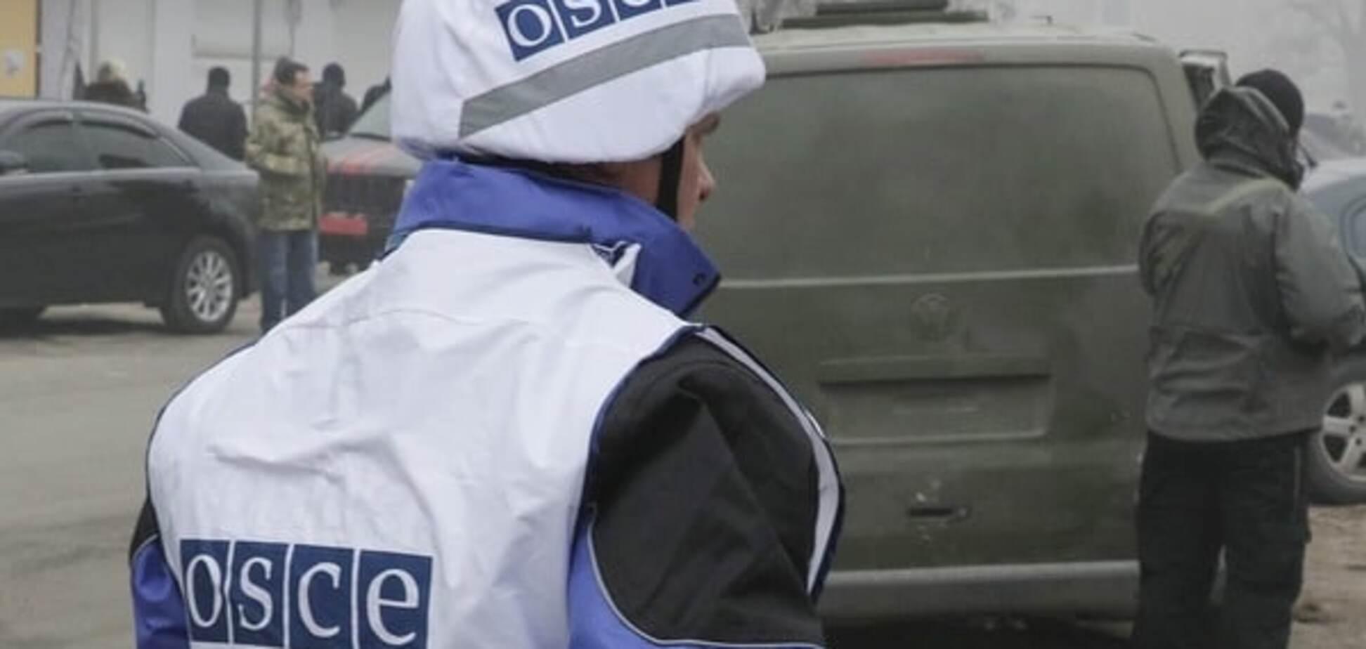 Разошлись: террористы на Донбассе устроили стрельбу близ поста ОБСЕ