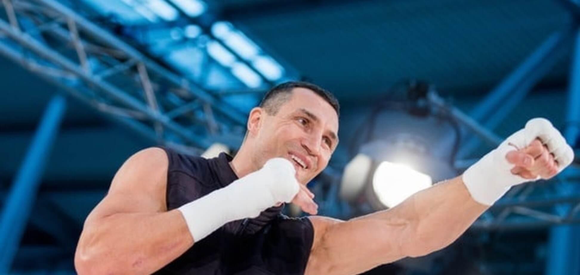 'Перезагрузился': Кличко пообещал нокаутировать Фьюри